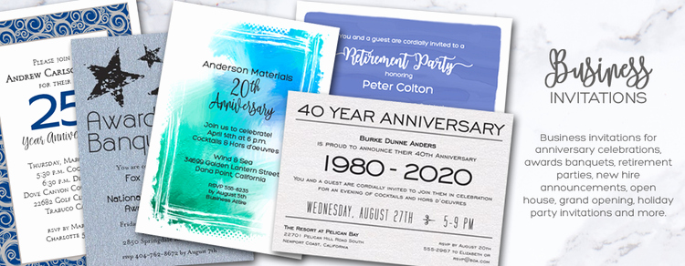Company Open House Invitation Unique Business Invitations