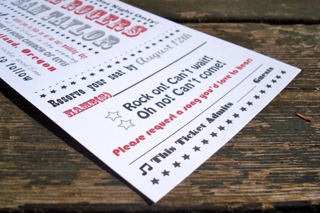 Concert Ticket Invitation Templates Beautiful Concert Ticket Invitation Template Free