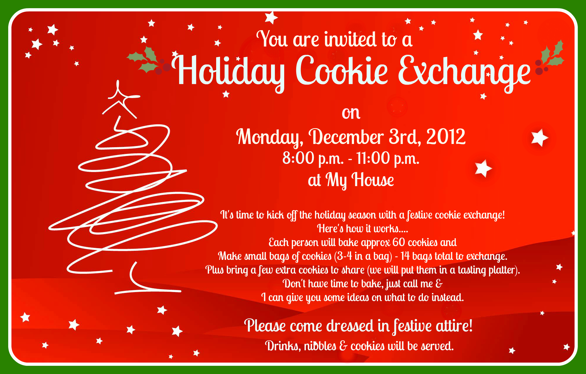 Cookie Exchange Invitation Templates Best Of How to Plan A Modern Cookie Exchange