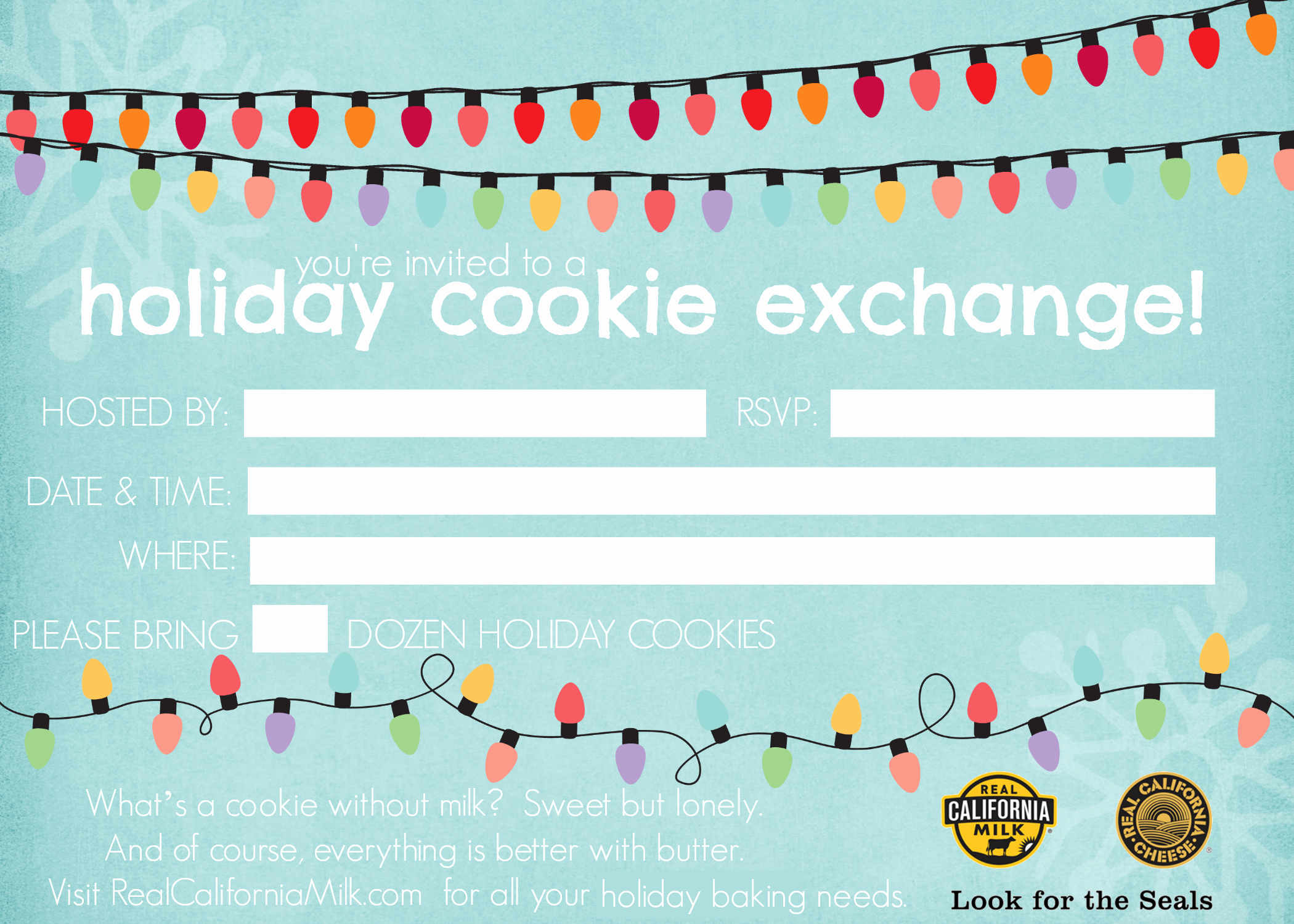Cookie Exchange Invitation Templates Elegant Other Printable Gallery Category Page 214