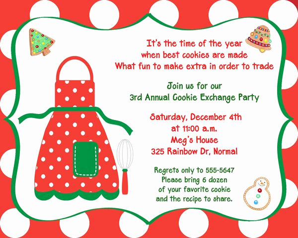 Cookie Exchange Invitation Templates Inspirational 47 Best Christmas Pajamas and Pancake Party Ideas Images