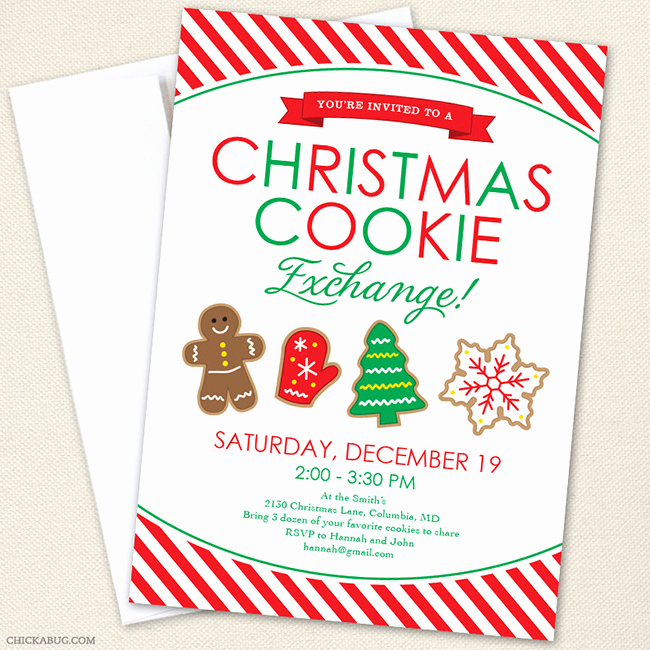 Cookie Exchange Invitation Templates Lovely How to Host A Holiday Cookie Exchange Free Printables