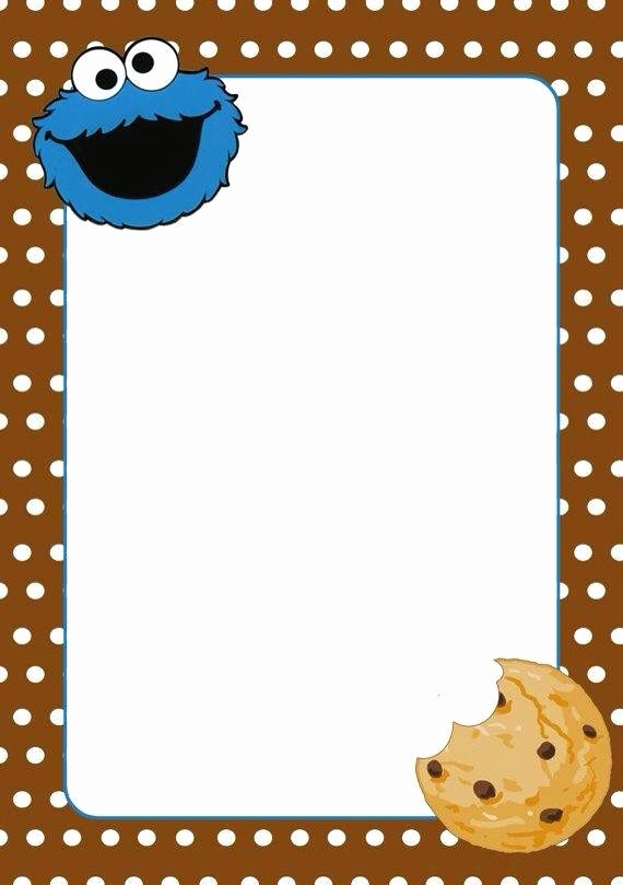 Cookie Monster Invitation Template Awesome 221 Best Images About Ideas On Pinterest