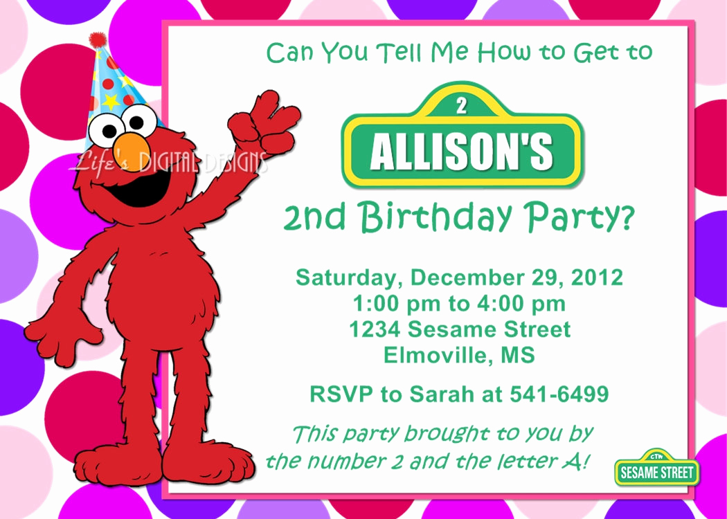 Cookie Monster Invitation Template Fresh Free Printable Elmo Birthday Invitations