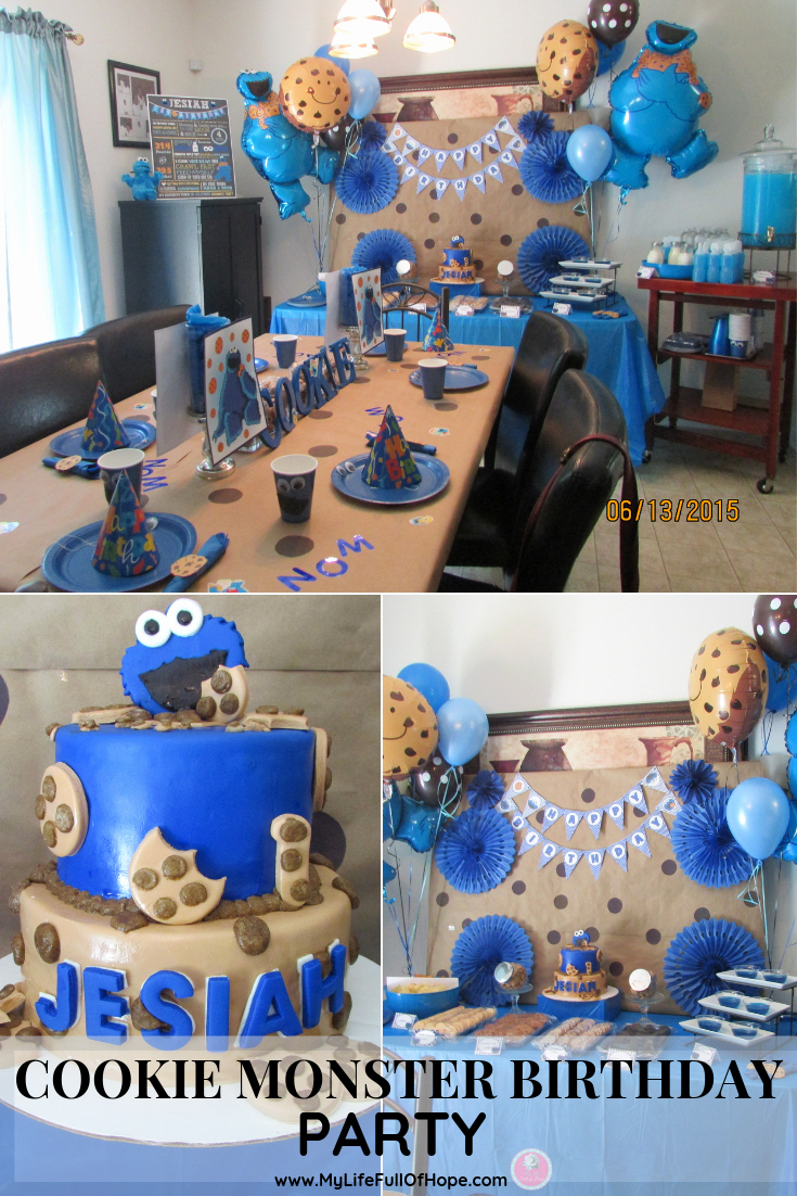 Cookie Monster Invitation Template Inspirational Cookie Monster Birthday Party Ideas