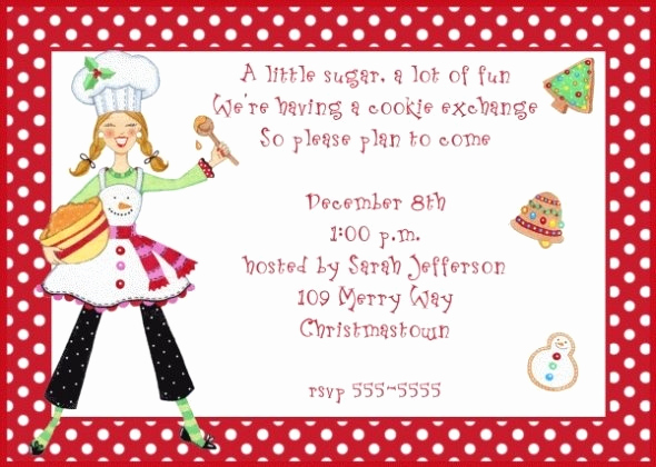 Cookie Swap Invitation Template Lovely Tracy Lang I Like the First Part Wording Of This Invite