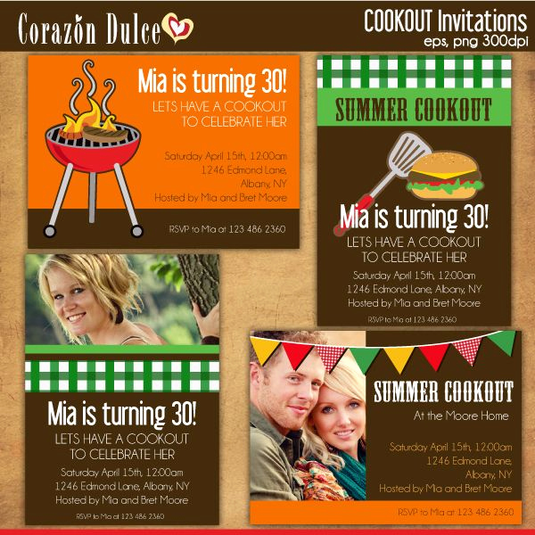 Cookout Invitation Template Free Fresh 22 Best Images About Cookout and Bbq Graphics and Party