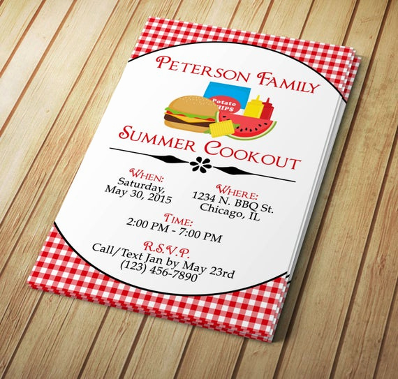 Cookout Invitation Template Free Fresh Summer Cookout Invitation Editable Template Microsoft Word