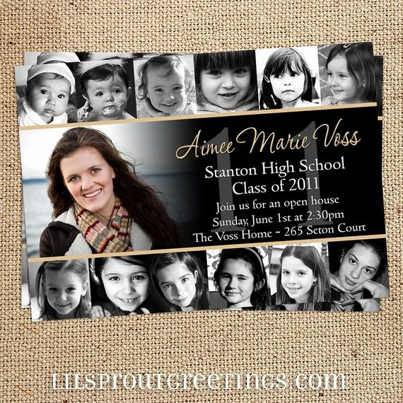 Cool Graduation Invitation Ideas Awesome Best 25 High School Graduation Announcements Ideas On