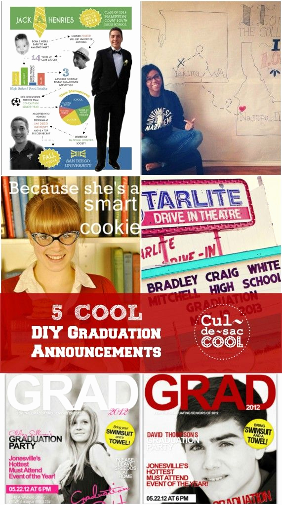 Cool Graduation Invitation Ideas Elegant 22 Best Images About Graduation On Pinterest