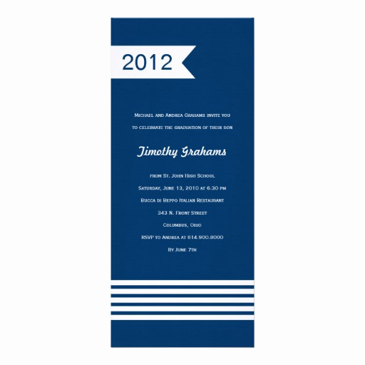 "Cool Graduation Invitation Ideas Lovely Simply Cool Graduation Invitations 4"" X 9 25"" Invitation"