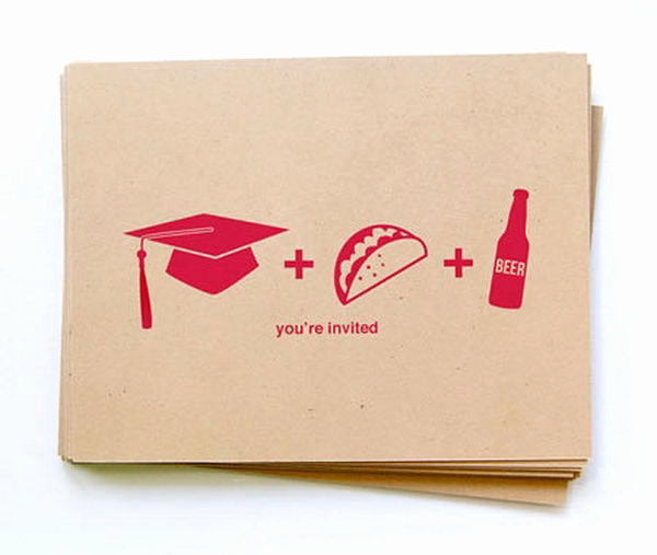 Cool Graduation Invitation Ideas New 25 Creative Graduation Announcement Ideas Hative