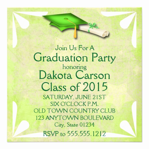 Cool Graduation Invitation Ideas New Cool Limony Stars Graduation Invitations