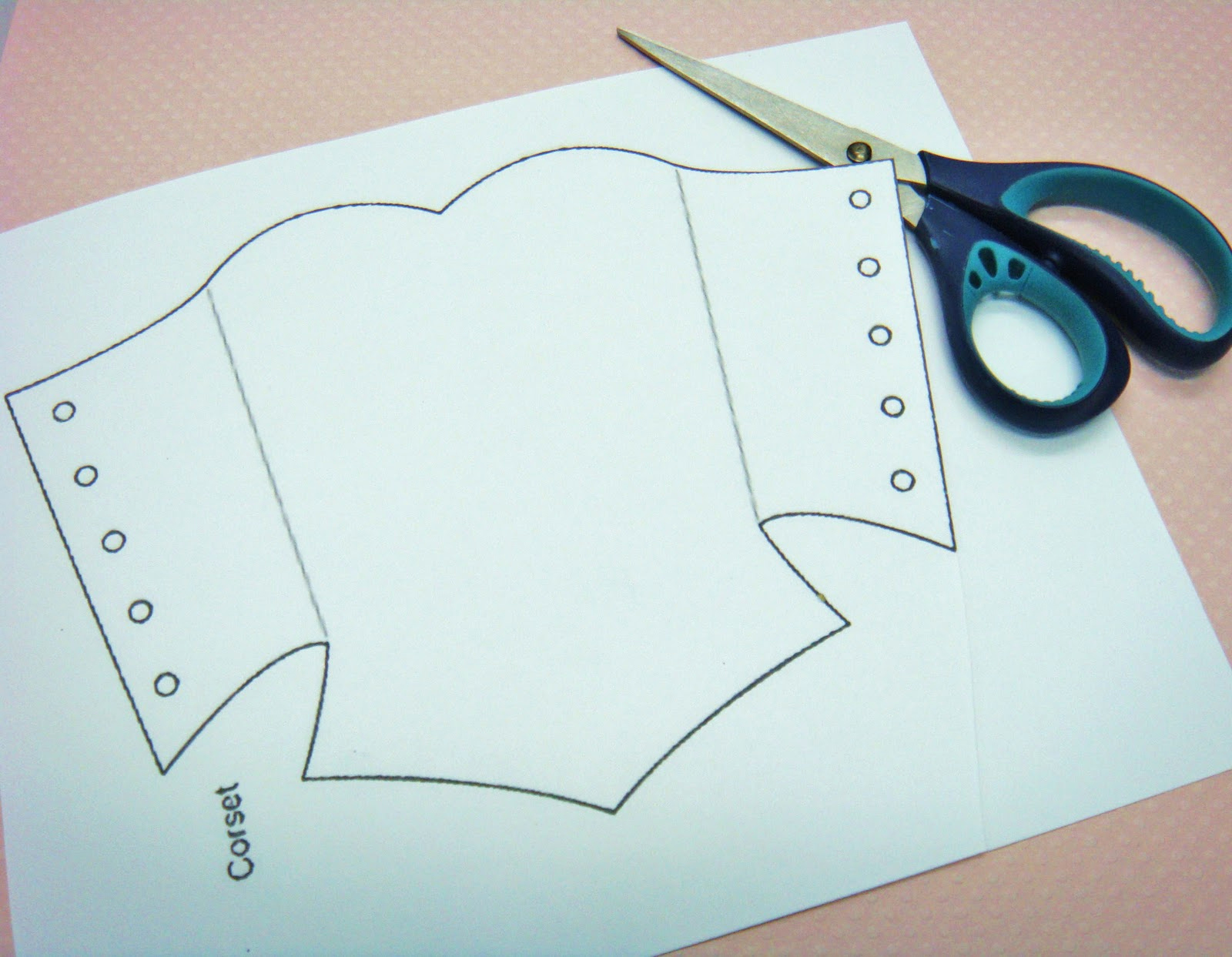 Corset Invitation Template Free Best Of Corset Template Doll Tutorials Sewing