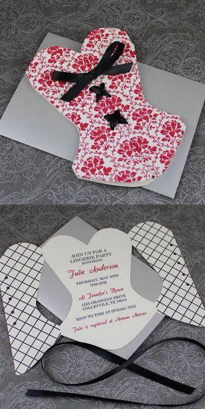 Corset Invitation Template Free Lovely Invitaciones Bellas Para Despedida De soltera