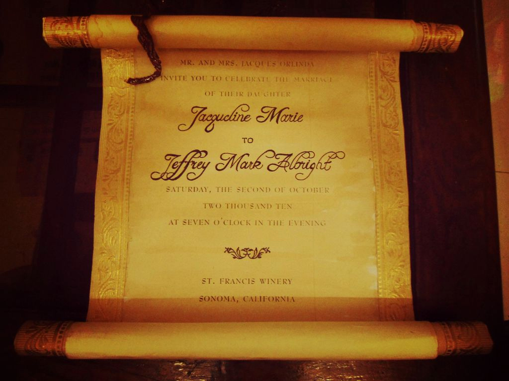 Count Of Monte Cristo Invitation Inspirational Vintage Scroll Wedding Invitation 12 Steps