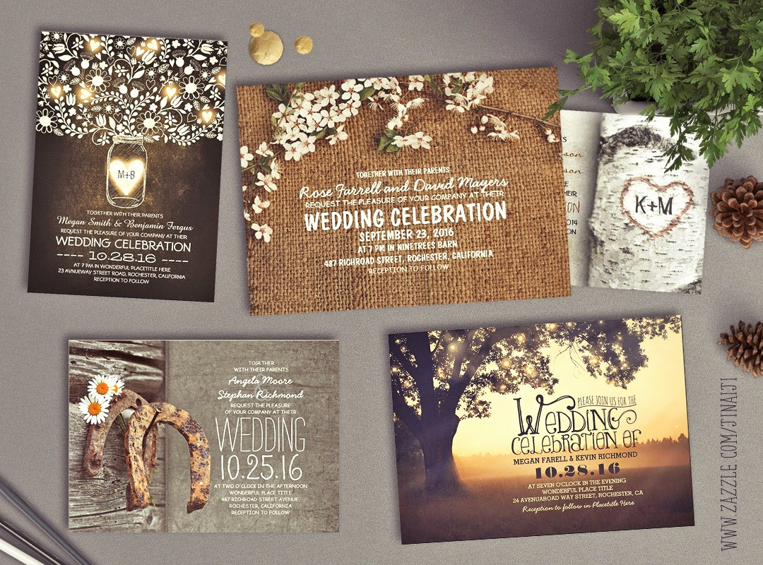 Country Wedding Invitation Ideas Beautiful Need Wedding Idea Look at these Rustic Vintage or