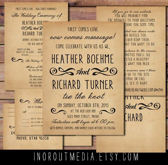 Country Wedding Invitation Wording Beautiful 1000 Ideas About Casual Wedding Invitations On Pinterest