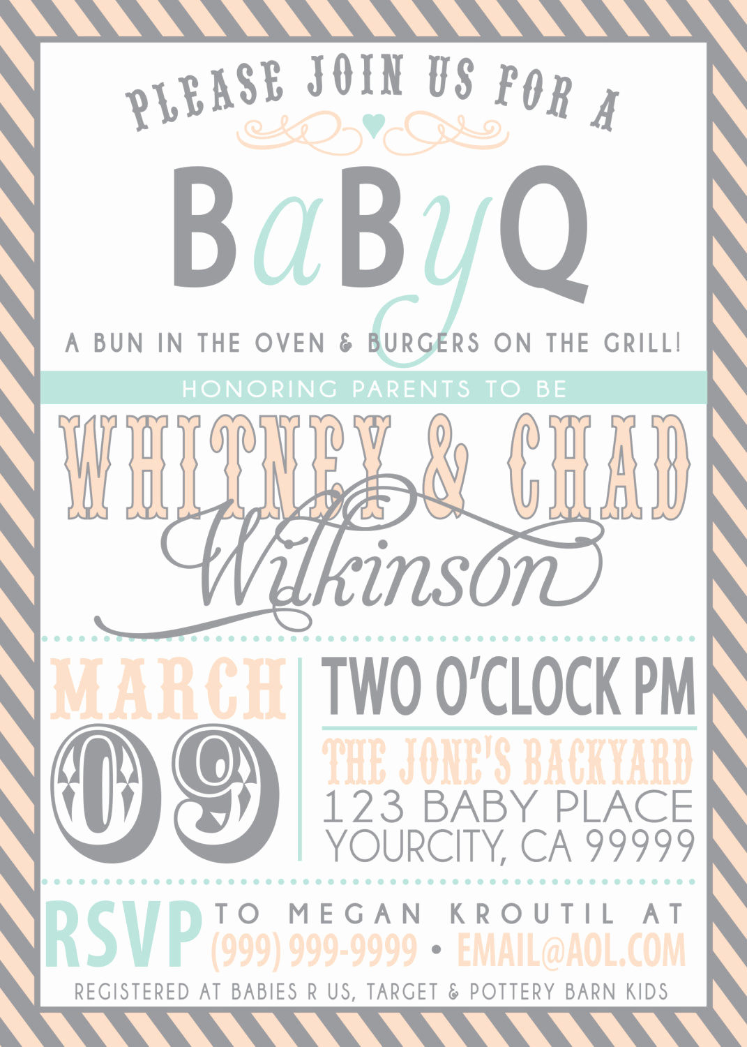 Couple Baby Shower Invitation Best Of Couples Bbq Baby Shower Invitation