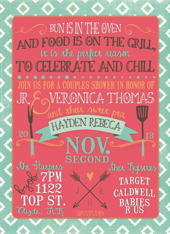Couple Baby Shower Invitation Fresh 25 Best Ideas About Couples Baby Showers On Pinterest