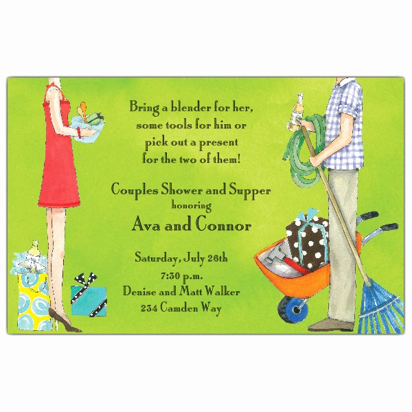 Couple Shower Invitation Wording Awesome All the Joys Couples Shower Invitations