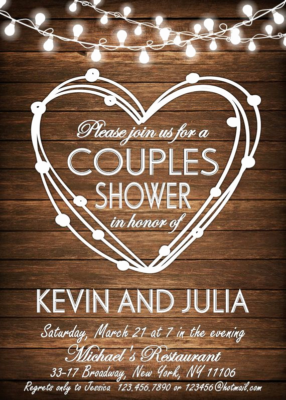 Couple Shower Invitation Wording Awesome Couples Shower Invitation Bbq Couples Shower Bbq by