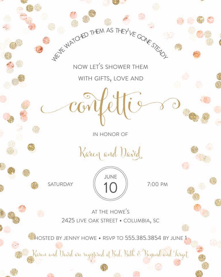 Couple Shower Invitation Wording New Bridal Shower Invitation Wording Ideas and Etiquette