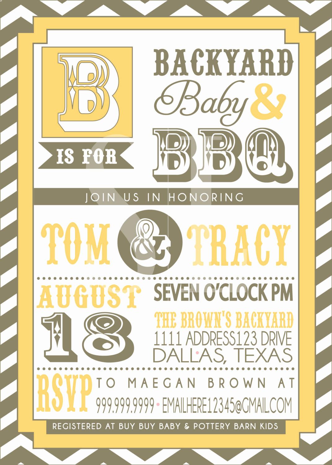 Couples Baby Shower Invitation Wording Awesome Couples Bbq Baby Shower Invitation by Sldesignteam On Etsy