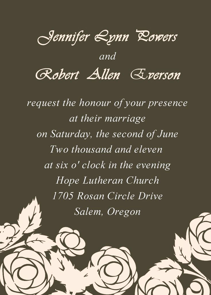 Couples Hosting Wedding Invitation Wording Elegant Unique Ideas for Wedding Invitation Wording Couple Hosting