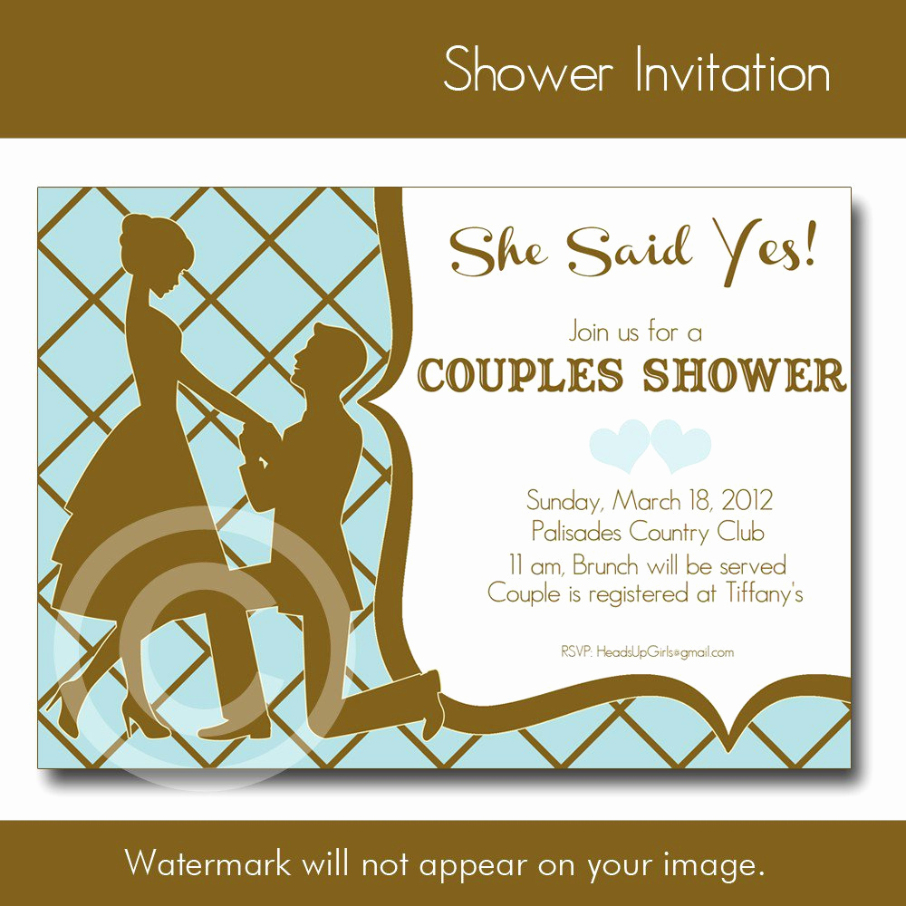 Couples Shower Invitation Templates Free Elegant Couples Wedding Shower Invitations Templates
