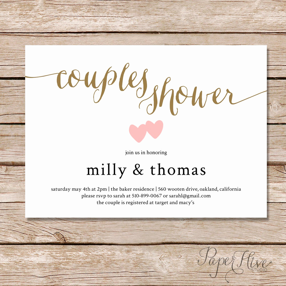 couples shower invitation couples wedding shower invite diy printable digital file