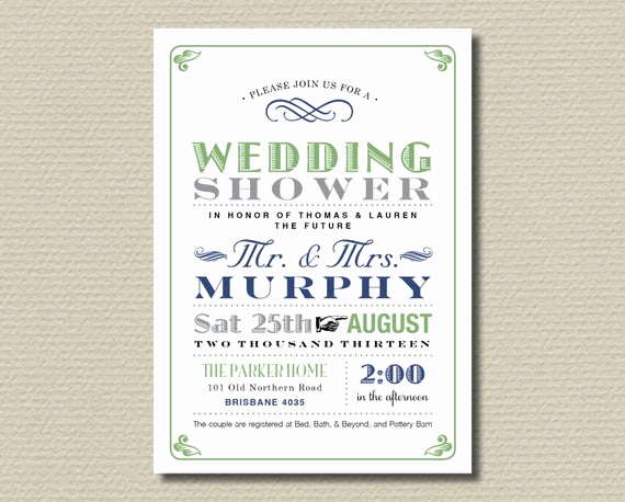 Couples Shower Invitation Templates Free Luxury Items Similar to Printable Couples Wedding Shower