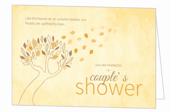 Couples Wedding Shower Invitation Wording Awesome Fall Bridal Shower Ideas themes Invitations Wording