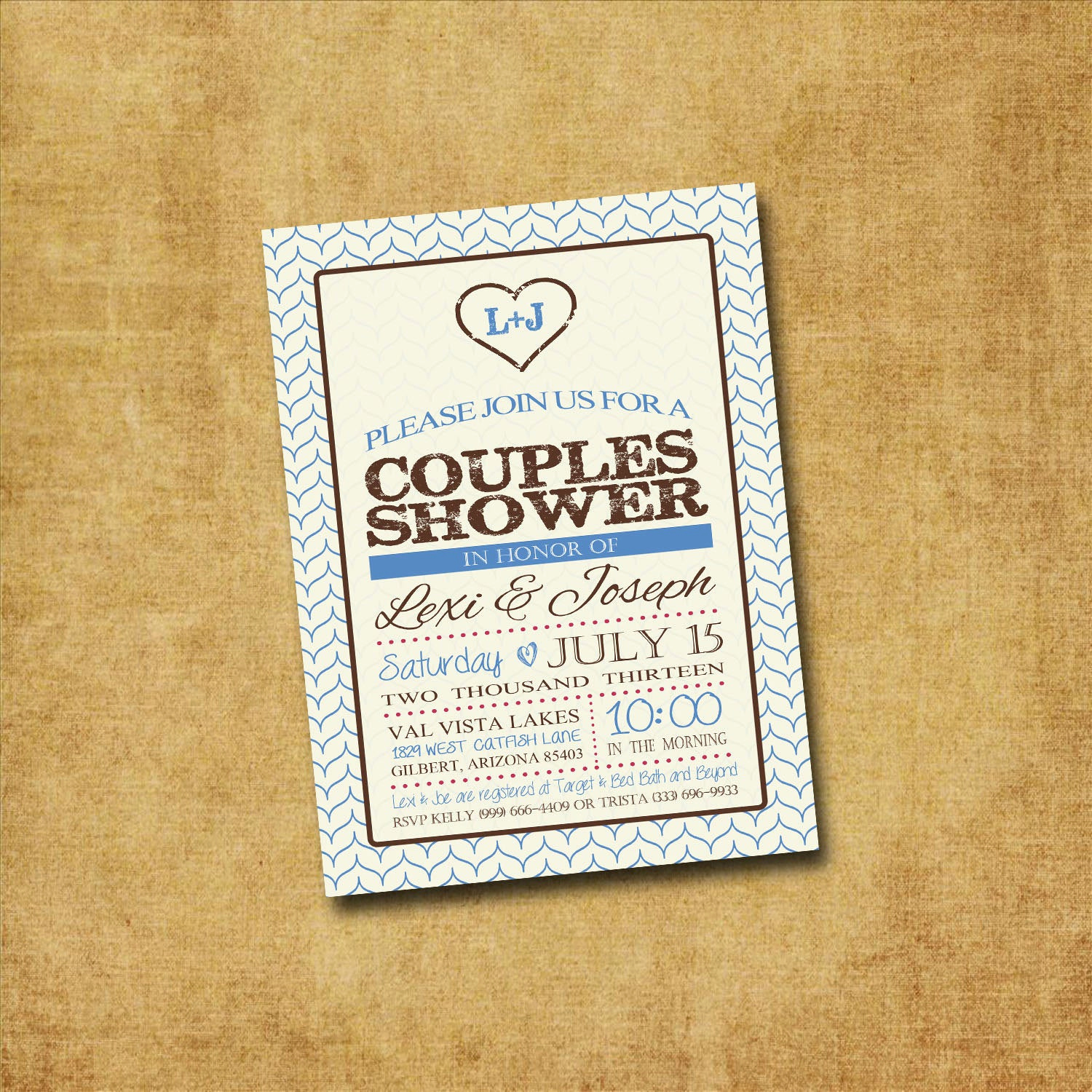 Couples Wedding Shower Invitation Wording Fresh Printable Couples Shower Invitation Rustic Couples by