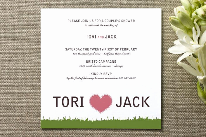 Couples Wedding Shower Invitation Wording Inspirational 12 Best Images About Cute Couples Shower Invitations On