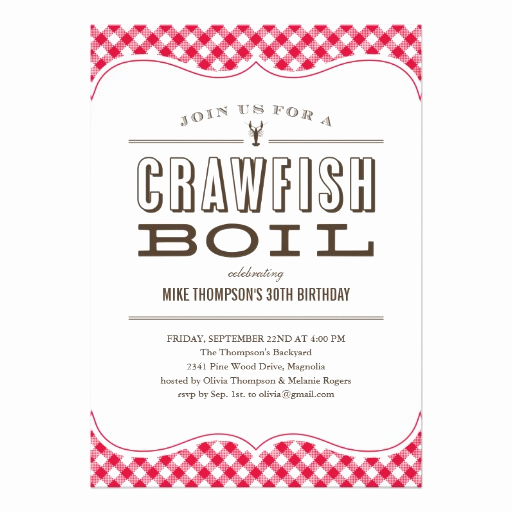 Crawfish Boil Invitation Wording Luxury Crawfish Gifts T Shirts Art Posters & Other Gift Ideas