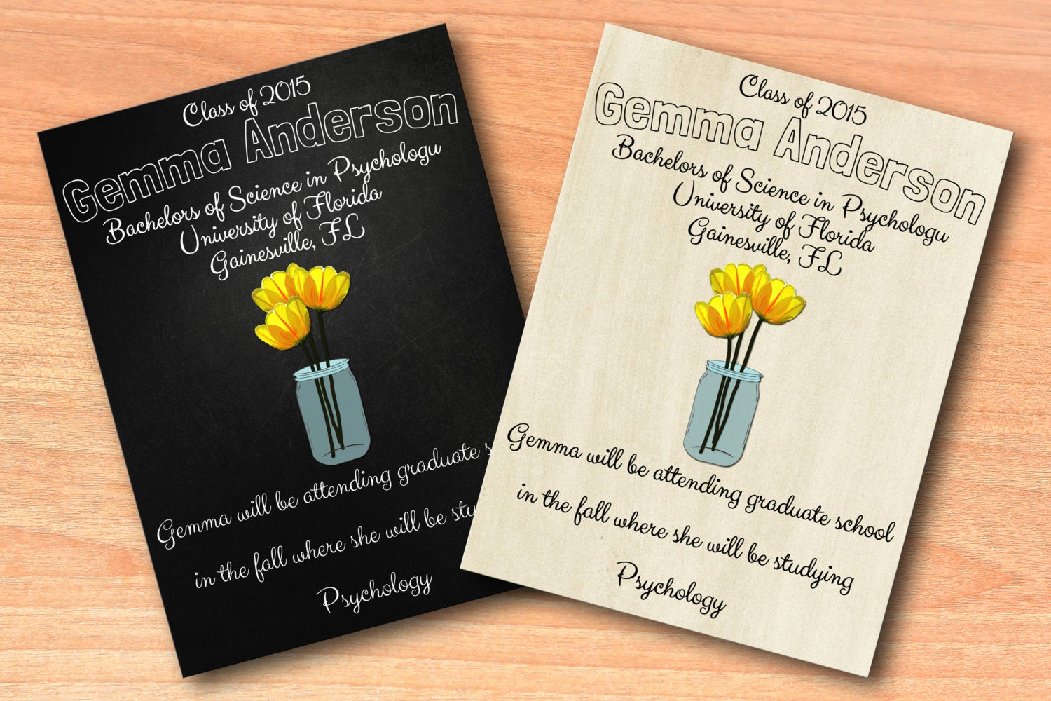 Create A Graduation Invitation Beautiful Graduation Announcements Create Your Own by Shortstackdesigns