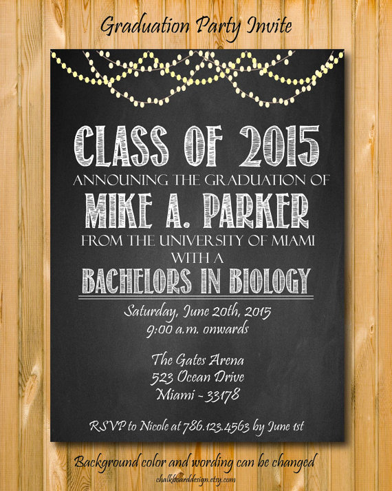 Create A Graduation Invitation Elegant Items Similar to Graduation Invitation College Graduation