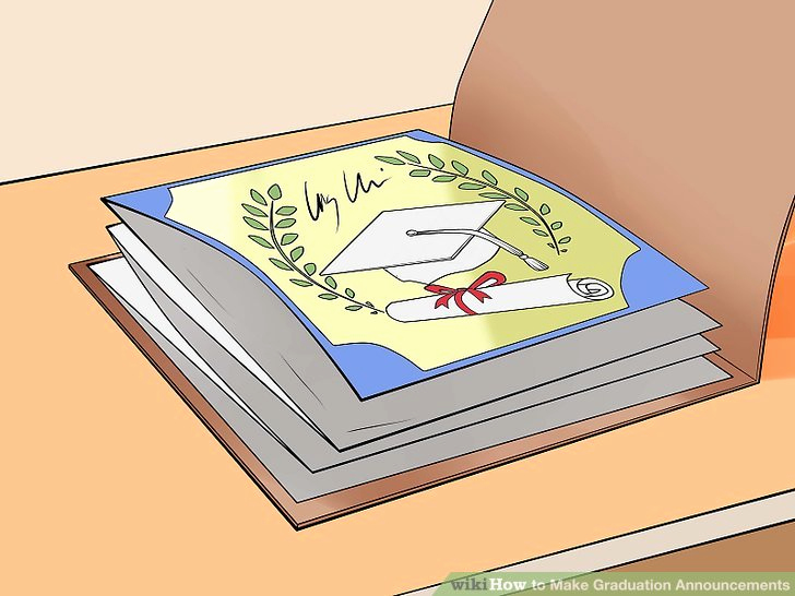 Create Graduation Invitation Online Best Of 3 Ways to Make Graduation Announcements Wikihow