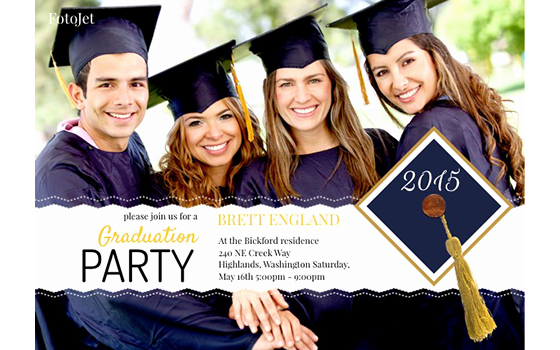 Create Graduation Invitation Online Elegant Graduation Invitation Maker Create Your Own Graduation