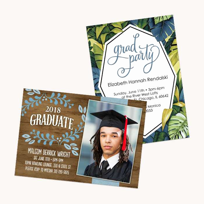 Create Graduation Invitation Online New Cards Create Customized Cards