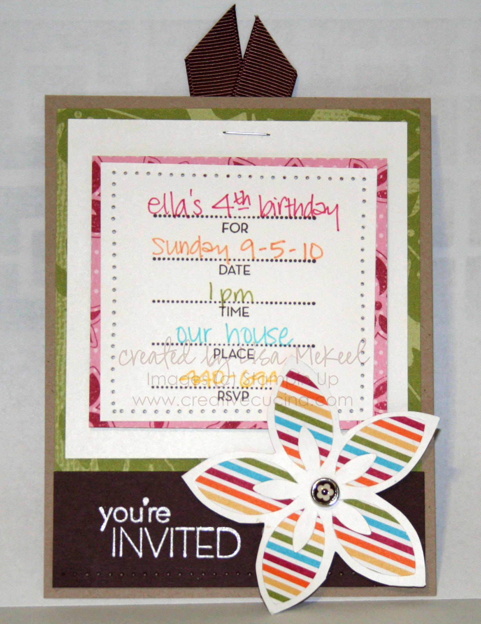Creative Birthday Invitation Ideas Inspirational Birthday Invitation