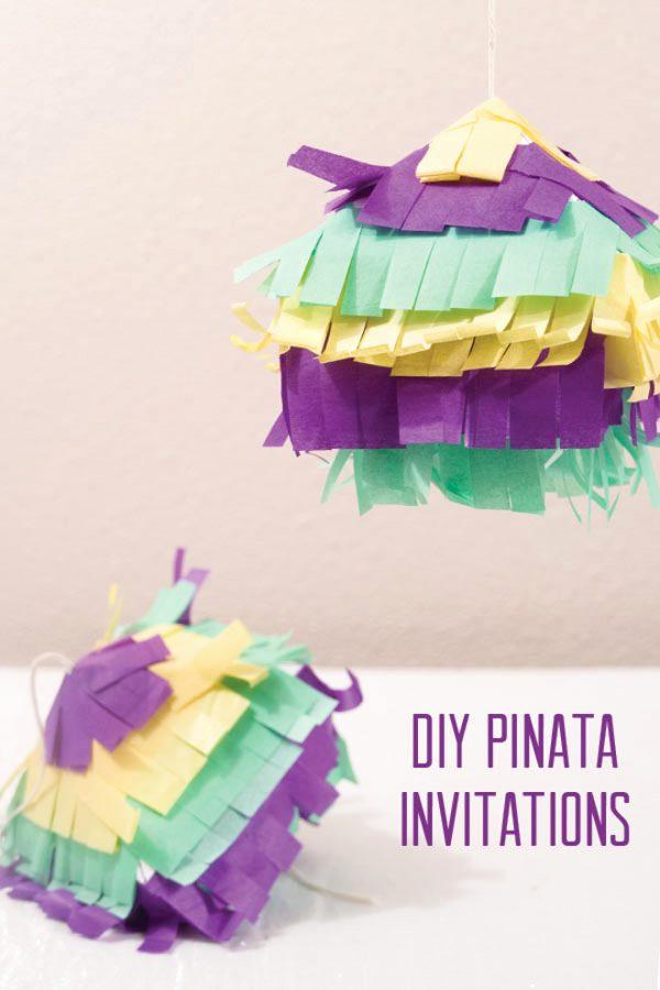 Creative Birthday Invitation Ideas Unique 10 Creative Diy Kids Birthday Party Invitations Design