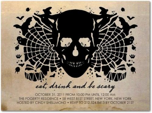 Creative Birthday Invitation Ideas Unique 30 Creative Halloween Party Invitation Ideas Shelterness