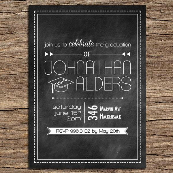 Creative Graduation Invitation Ideas Awesome 10 Creative Graduation Invitation Ideas Hative