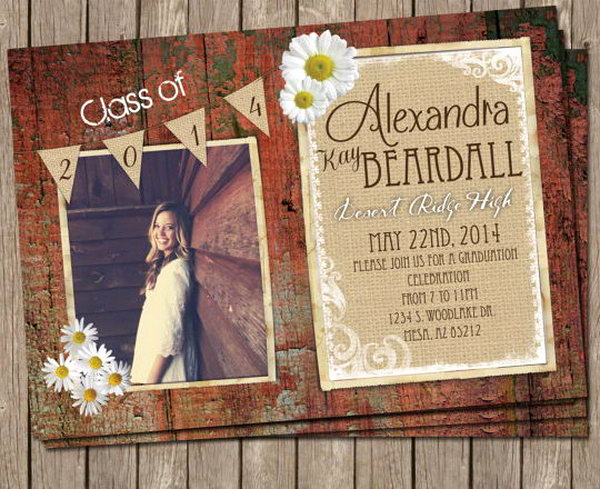 Creative Graduation Invitation Ideas Beautiful 25 Creative Graduation Announcement Ideas Hative