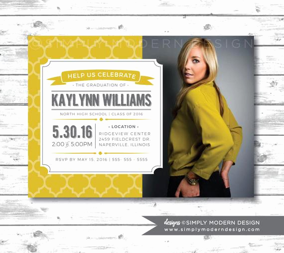 Creative Graduation Invitation Ideas Beautiful Unique Graduation Announcement Graduation by