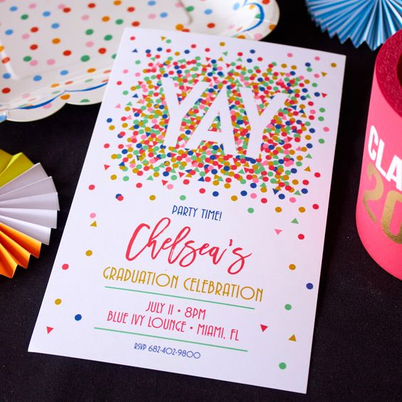 Creative Graduation Invitation Ideas Fresh 21 Creative Ideas for Your Graduation Party
