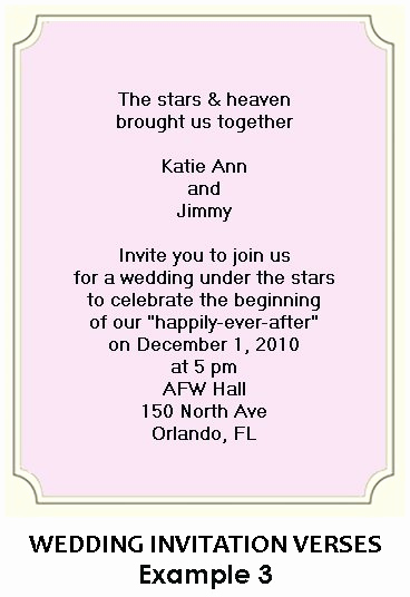 Creative Wedding Invitation Wording Beautiful Creative Wording for Wedding Invitations