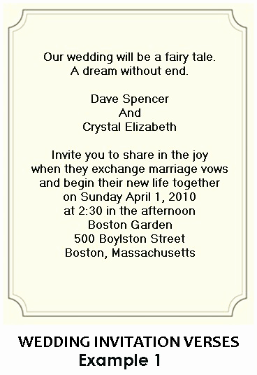 Creative Wedding Invitation Wording Lovely Creative Wording for Wedding Invitations